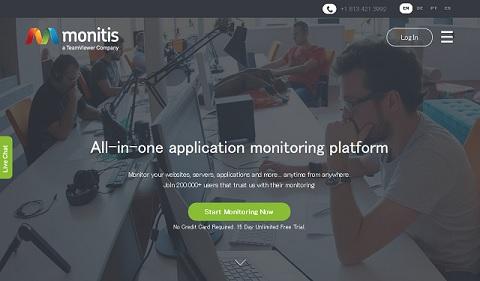 monitis で Webサイトの安定性をチェック
